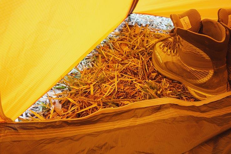 写真:カミナモノポールの前室